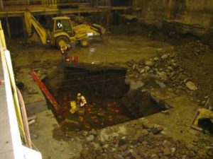 2004 Soudan Underground Elevator shaft Blasting