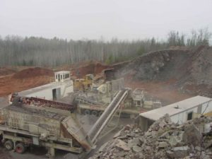 2003 Udeens Quarry Crushing, Drilling and Blasting